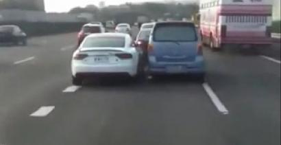 Tak kłócą się kierowcy-Azjaci