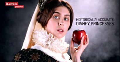 Historycznie właściwe kostiumy księżniczek Disneya