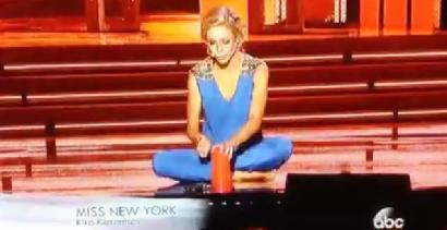 Miss Ameryki zaprezentowała swój największy talent