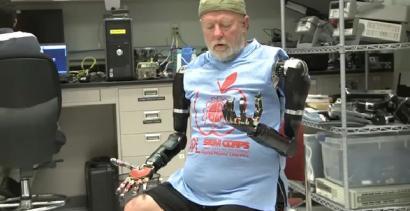 Pierwsze protezy na świecie, sterowane myślami