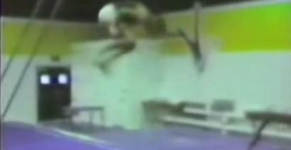 Wypadek na sali gimnastycznej