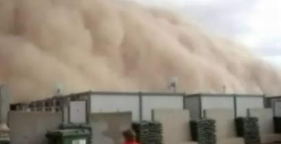 Burza piaskowa w Iraku