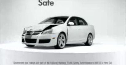 """Bezpieczna"" reklama Volkswagena"