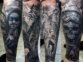 Rosyjska mistrzyni tatuażu - WOW!
