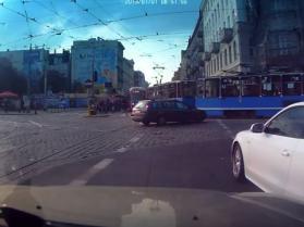 Burak w Audi - tak się jeździ we Wrocławiu