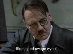 Hitler dowiaduje się o przegranej Niemiec w meczu z Polską
