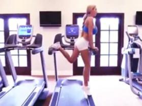 Jordan Carver - inspiracja z siłowni