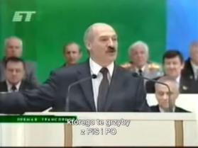 Aleksander Łukaszenka krytykuje polski krajobraz