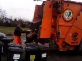 Z życia polskiego śmieciarza