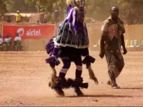 Afrykański fan elektroniki