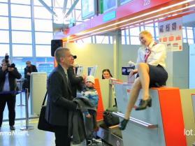 Powitanie półmilionowego pasażera Dreamlinera LOT-u!