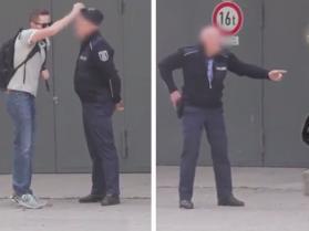 Ukradł policjantowi czapkę