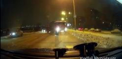 Wypadki ciężarówek - GRUDZIEŃ 2014