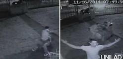 Ten złodziej próbował okraść dom żołnierza