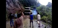 """Wypadek autobusu na boliwijskiej """"drodze śmierci"""""""