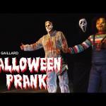Rémi Gaillard wczuwa się w Halloween
