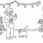 Kot Simona na Mikołajki i na święta