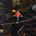 Nik Wallenda i jego przechadzka nad Chicago