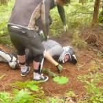 Dirtbiker stracił przytomność!