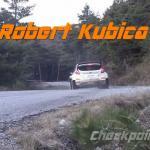 Robert Kubica testuje samochód