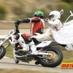 Kompilacja wypadków na motocyklach