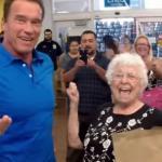 Arnold Schwarzenegger i jodłująca babcia