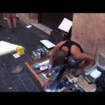 Niesamowity artysta na ulicach Rzymu