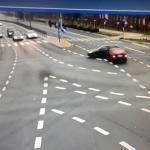 Pijany Bułgar zignorował czerwone światło i spowodował wypadek