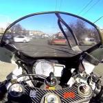Motocyklowe wpadki i awantury - jazda jednośladem chyba jednak nie odpręża...