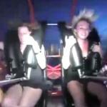 Dostała ORGAZMU na rollercoasterze!