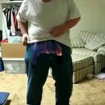 Myślał, że będzie świetnie, jeśli podpali swoje spodnie