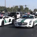 Parada aut w Dubaju