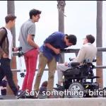 Bezczelny niepełnosprawny