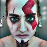 Ta mistrzyni makijażu potrafi zamienić się w dowolną postać...