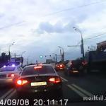 Wypadki z udziałem policji - HARDKOR!