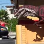 Dinozaur w parku - amerykański kawał