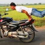 JOGA... na motorze!