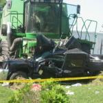 Wypadki traktorow i kombajnow