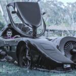Zbudował idealnego Batmobila!