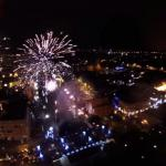 Fajerwerki WOŚP Bydgoszcz, filmowane z drona i GoPro hero!!!