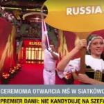 Reprezentacja Rosji wygwizdana podczas ceremonii otwarcia Mistrzostw Świata