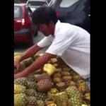 Filipiński czarodziej do spraw ananasów