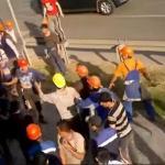 Wielka bójka robotników w Moskwie