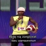 """Piłkarz-akrobata w gruzińskim """"Mam Talent"""""""
