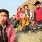 Mongolski gangsta rap z lepianki