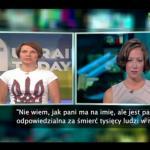 Ukraińska dziennikarka UPOKORZYŁA Russia Today!