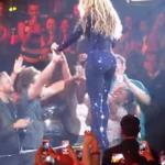 Psychofan na koncercie Beyonce