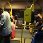 BÓJKA Ukraińca i Polaka w autobusie - STRASZNE!