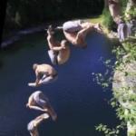 Nowy sport ekstremalny - z udziałem trampoliny!