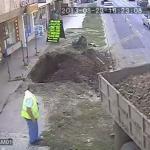Rumuńscy fachowcy od naprawy dróg
